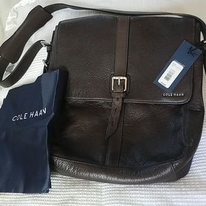 Cole Haan Leather Satchel NWT